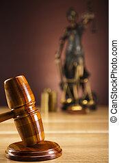 marteau, droit & loi, action