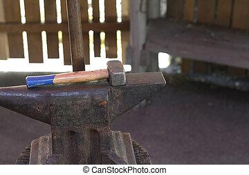 marteau, enclume