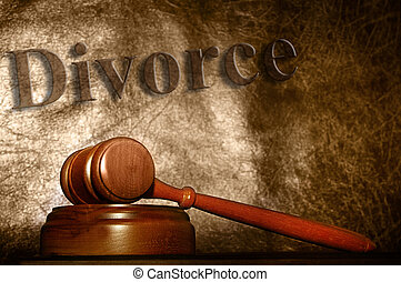 marteau, texte, fond, légal, divorce