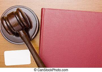martelletto legno, di, legge