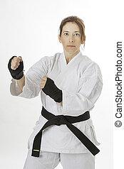 Martial art artist