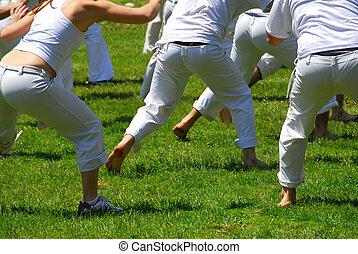 Martial art students - Oriental martial art students