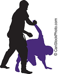 Martial arts - martial arts men fighting