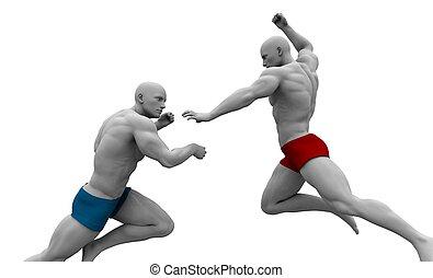Martial Arts Combat