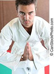 Martial Arts Greeting
