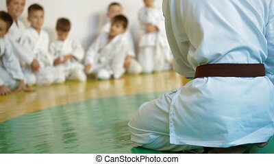 Martial arts instructor training