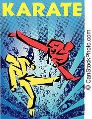 martial arts karate fight - martial arts karate kyokushinkai...