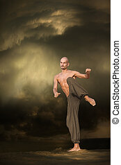 martial arts, sporten trainende