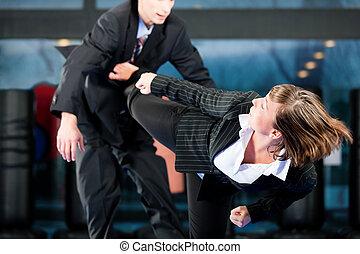 martial arts, sporttraining, en, zakelijk