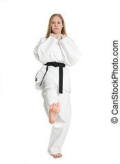 martial arts, vrouw