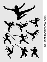 Martial Silhouettes