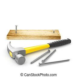 martillo, amarillo