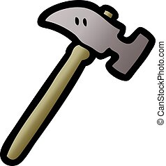 martillo, caricatura