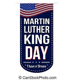 Martin Luther King Day banner desi