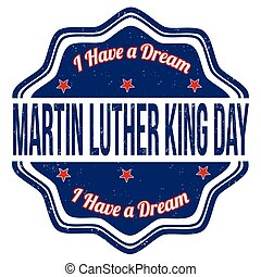 Martin Luther King Day stamp