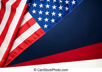 Martin Luther King, Jr. Day Anniversary - American flag