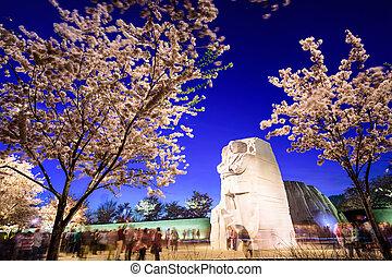 Martin Luther King Junior Memorial - WASHINGTON, D.C. -...