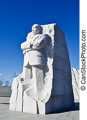 Martin Luther King Memorial Statue in Washington DC