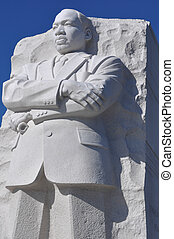 Martin Luther King Memorial - WASHINGTON, DC - AUGUST 20:...