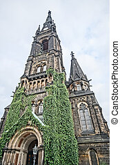 Martin-Luther Kirche in Dresden, Germany