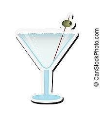 martini cocktail icon