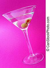 Martini Over Purple
