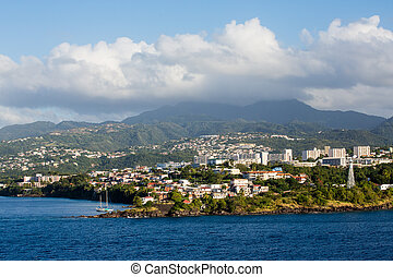 Luxury Condos on the coast of French Martinique