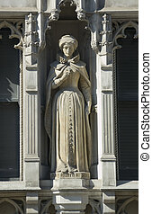 Mary, Queen of Scots Statue, London