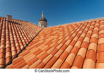 mary vergine, tetti, cattedrale, assunzione, tower.