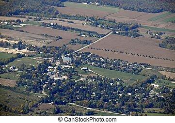 Maryhill Ontario, aerial