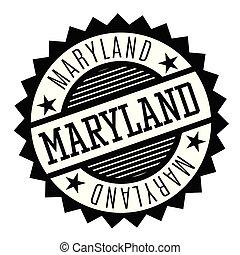 Maryland black and white badge