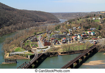 Maryland Heights View of Harpers Ferry