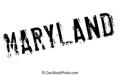Maryland stamp rubber grunge