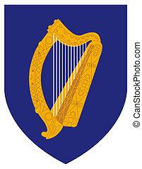 marynarka, herb, irlandia