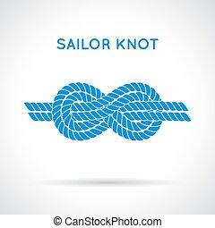 marynarz, knot.