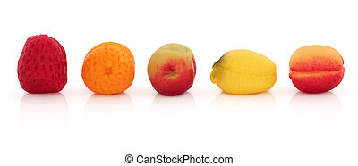 Marzipan Fruit Sweets