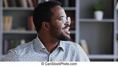 marzycielski, o, sen, człowiek, przyszłość, dobry, afrykanin...