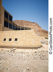 Masada is an ancient fortification in the Southern District...