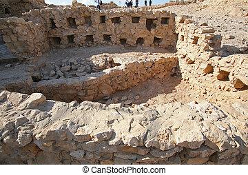 masada, israël, forteresse