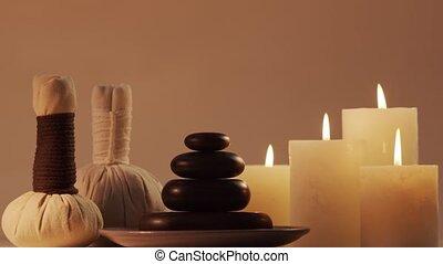 masage, méditation, aromatherapy., procédures, bien-être,...