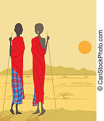 masai, maenner
