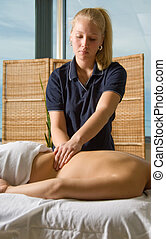 masaje, clínica