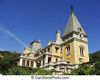 Masandra Palace, Crimea peninsula, Ukraine