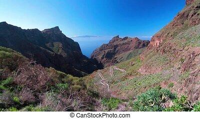 Masca Mountain Range And Gorge, Tenerife, Spain - Tenerife,...