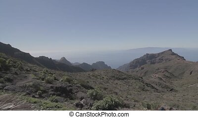 Masca Mountain Range And Gorge, Tenerife, Spain - Tenerife,...