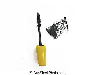mascara brush isolated on a white background