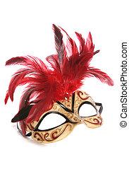 mascarada, recorte, máscara
