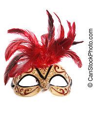 mascarade, coupure, masque