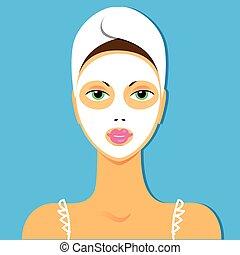 maschera, bellezza