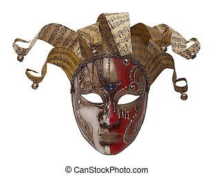 maschera, columbine